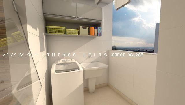 Bairro Bandeirantes lançamento lindo apartamento de 2 quartos suíte varanda elevador - Foto 10