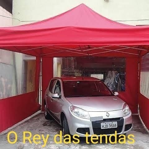 Tenda sanfonada com garantia e velcro grátis - Foto 3