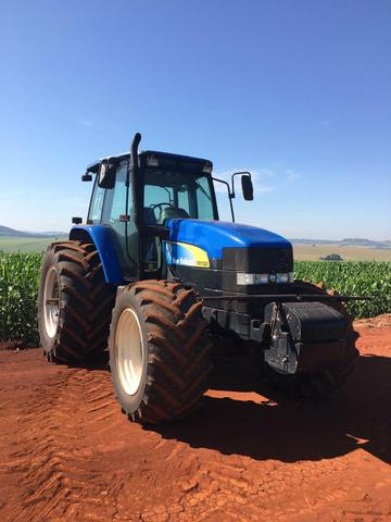 Trator new holland tm7020 ano 2009