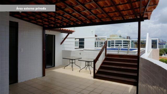 Cobertura 400m2 Duplex no Cabo Branco - João Pessoa - Foto 16