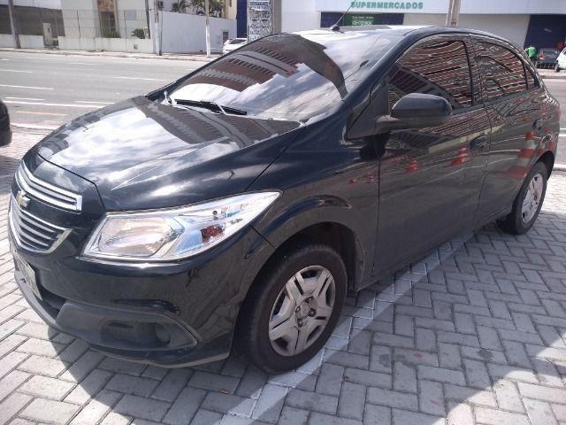 Chevrolet Onix 1.0 LT 8V Com My Link 14-14 Preto