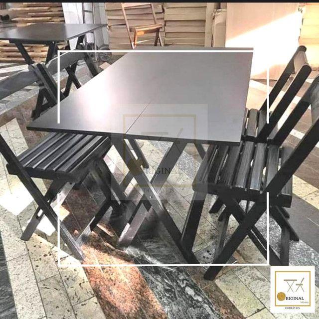 Mesas e cadeiras dobráveis direto de fábrica apartir de 239,00 - Foto 2