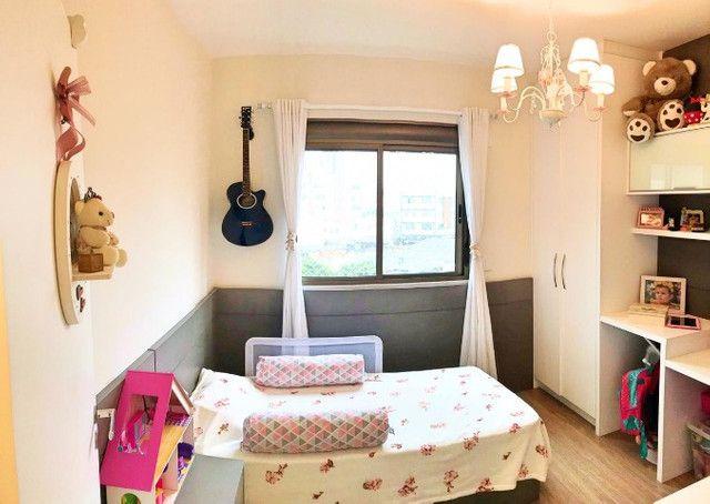 Lindo 02 dorms (01 suíte) 01 vaga, decorado e mobiliado, área de lazer completa - Foto 11