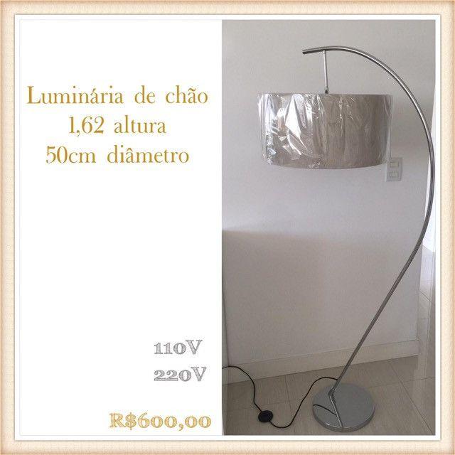 Luminária de chão - nova