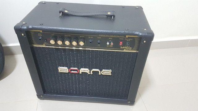 Combo Guitarra Michael Gm850 + Amplificador Borne Vorax 1050 + Cabo Tecniforte Gorilla - Foto 4