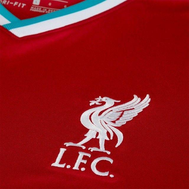 camisa liverpool 2021 - na embalagem - envio imediato - Foto 3