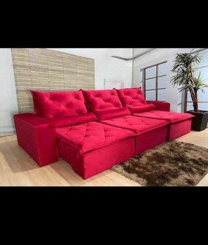 Sofá Retrátil e Reclinável Super confortável Delta (2.90 de largura) - Foto 4