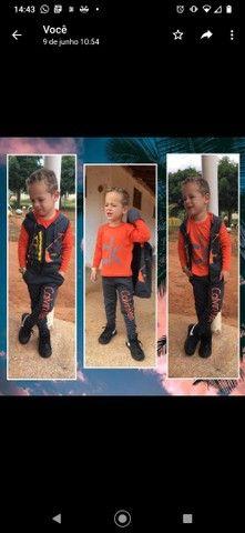 Conjuntos infantis estilo moletom - Foto 5