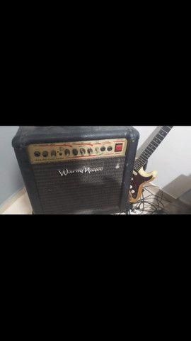 Vendo Guitarra + cubo + 2 pedais  - Foto 3