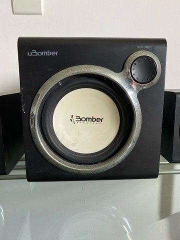 uBomber - sistema multimídia 2.1 - Foto 2