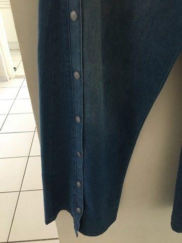 Calça Jeans Pantalona - Foto 2