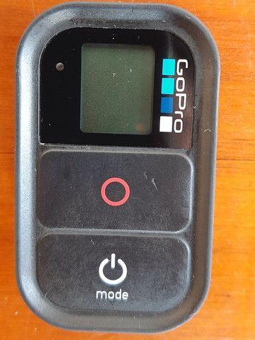 Controle Remoto Gopro® Original Hero 3/4/5/6/7/8 Black -Usado - Foto 4