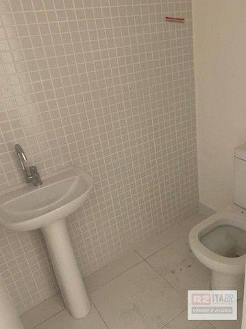 Conjunto, 43 m² - venda por R$ 175.000 ou aluguel por R$ 1.500/mês - Valongo - Santos/SP - Foto 3