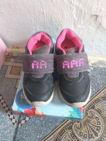 Sapato com led