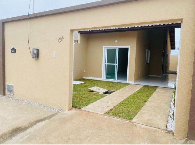 JP casa nova com 89m² com 2 quartos 2 banheiros a 15 minutos de messejana - Foto 2