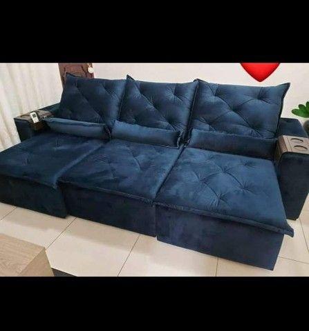 Sofá Retrátil e Reclinável Super confortável Delta (2.90 de largura) - Foto 3