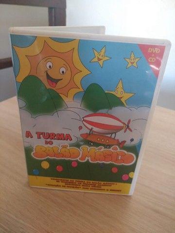 DVD e CD A turma do balão mágico - Foto 2