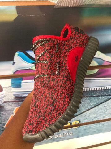 Adidas YZY Vermelho - 70,00 - NOSSO ZAP - (9 9 9 2 0 - 2 9 9 5)!<br><br> - Foto 6