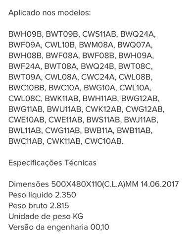 Anel Hidro Compensador Do Cesto Lavadora Brastemp - Foto 4