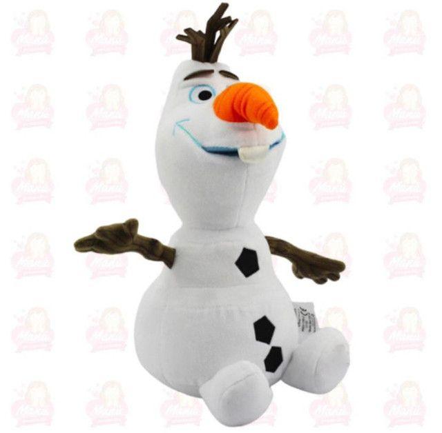 Olaf pelúcia super fofo vários tamanhos e preços