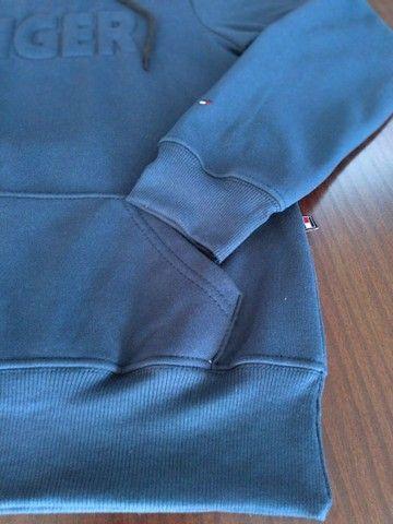 Blusa de moletom masculino pelúciado - Foto 5