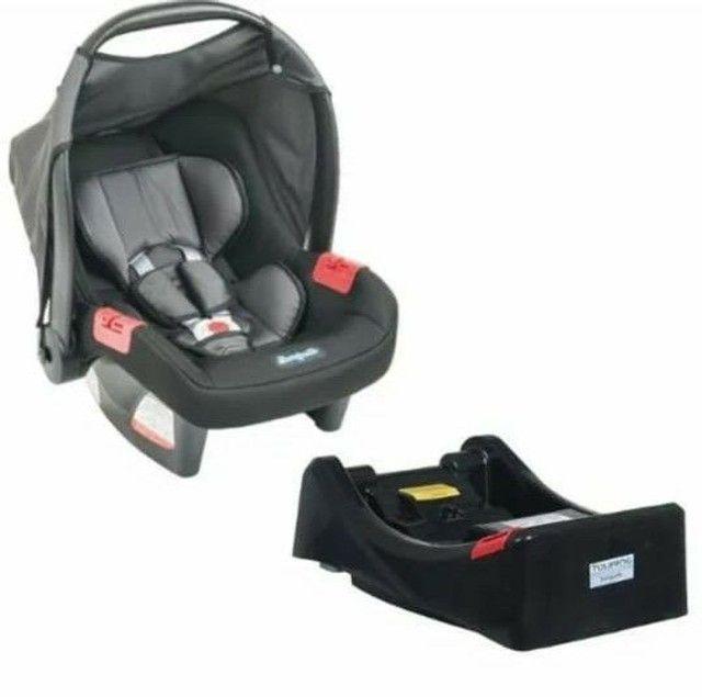 Cadeirinha bebê conforto touring burigotto de 0 à 13kg<br>Base burigotto touring preta