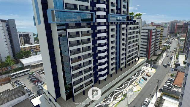 Apartamento Studio a 250 Metros da Praia de Ponta Verde, dividido em 80 meses