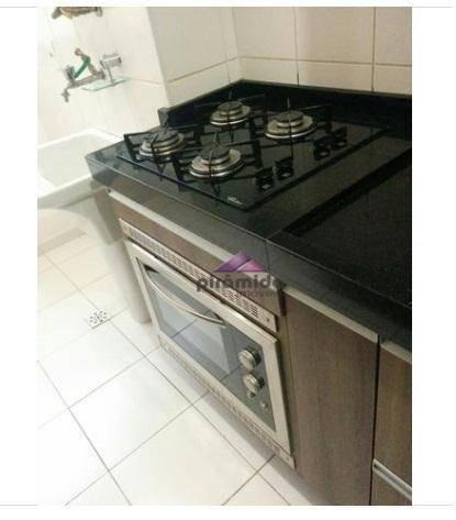 Apartamento com 2 dormitórios à venda, 55 m² por r$ 265.000,00 - jardim augusta - são josé - Foto 7
