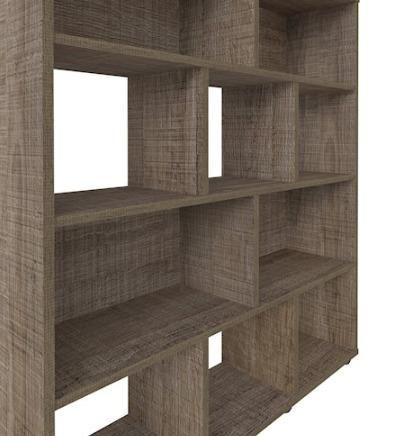 Estante de Livros Modelo Book (Artely) Cor Canela - Foto 4