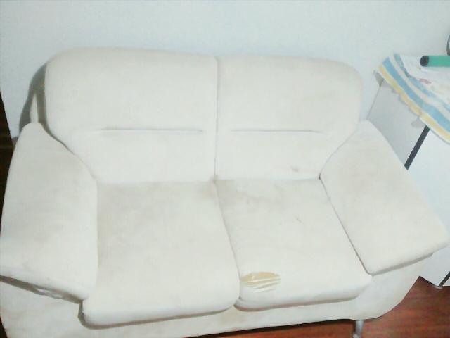 Vendo sofá ortopédico cor beje