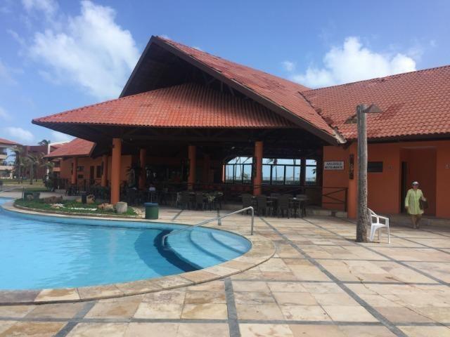Apto temporada Aquaville 2 suites, próximo Beach Park no Porto das Dunas - Foto 16
