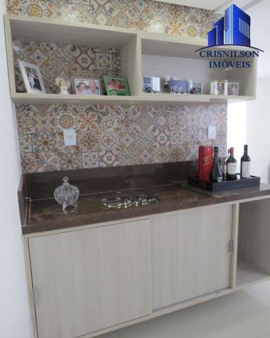 Casa à venda alphaville salvador ii, nova, r$ 2.400.000,00, piscina, espaço gourmet! - Foto 16