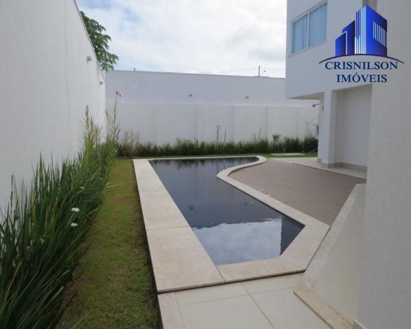 Casa à venda alphaville salvador ii, nova, r$ 2.400.000,00, piscina, espaço gourmet! - Foto 12