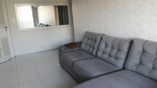 Apartamento Sala/Quarto Mobiliado, Locação na Ponta D'Areia, 2 Vagas Garagem - Foto 4