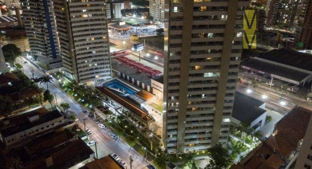 Apartamento com 3 dormitórios à venda por r$ 700.000,00 - cocó - fortaleza/ce