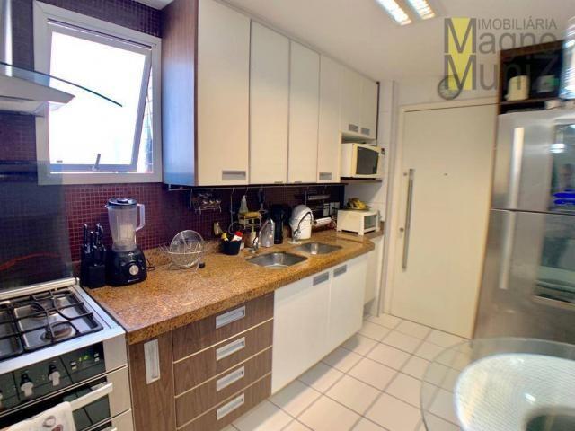 Apartamento com 3 dormitórios à venda por r$ 700.000,00 - cocó - fortaleza/ce - Foto 14