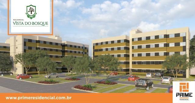 Ap de 2 quartos com suite reversível e quintal, Mario Covas- Vista do Bosque - Foto 9
