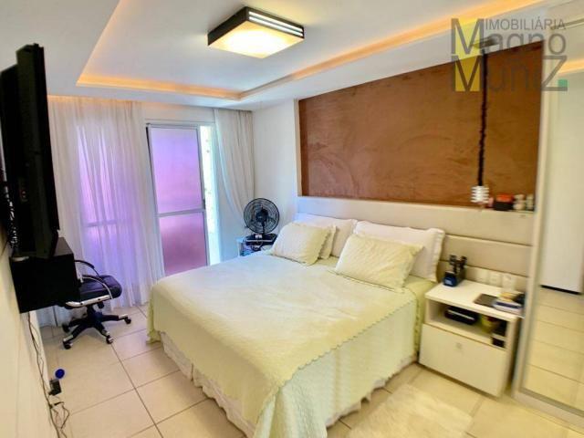 Apartamento com 3 dormitórios à venda por r$ 700.000,00 - cocó - fortaleza/ce - Foto 15