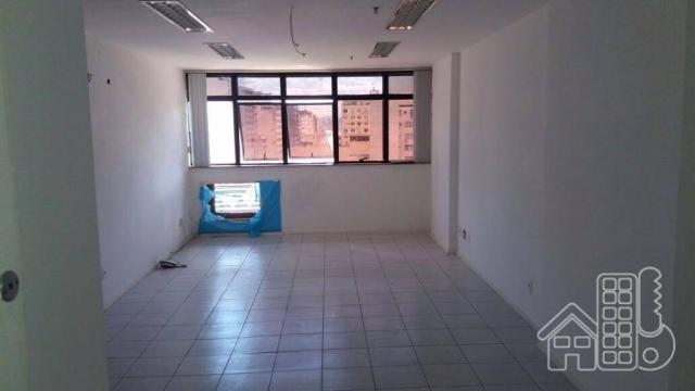 Sala para alugar, 22 m² por R$ 1.000,00/mês - Centro - Niterói/RJ - Foto 2