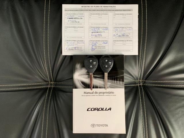 Toyota Corolla GLI 1.8 Flex Automtico 2014 - Foto 20