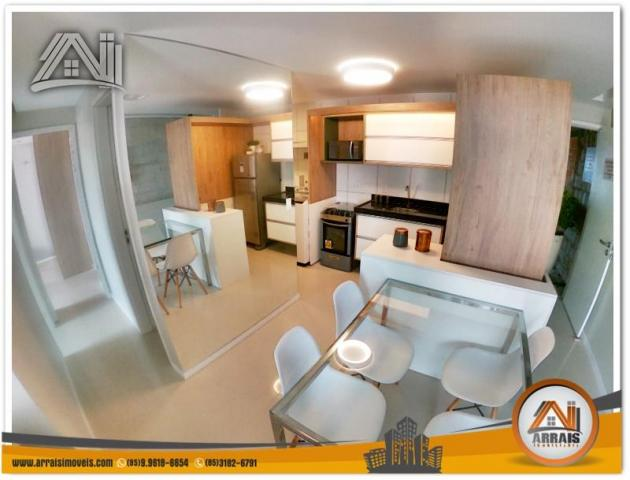 Apartamento com 2 Quartos mais Suite Master à venda no Bairro Benfica - AQUARELA CONDOMÍNI - Foto 6