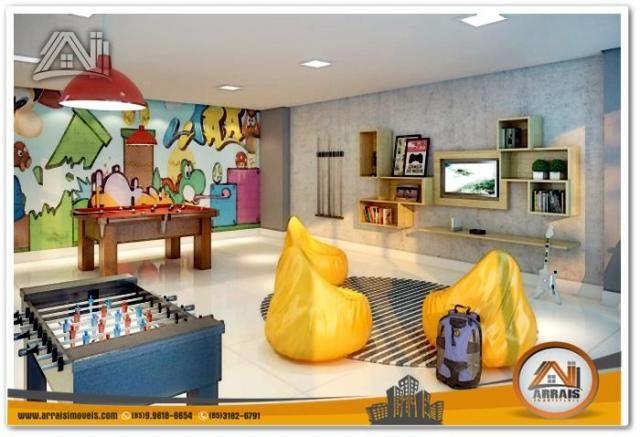 Apartamento com 2 Quartos mais Suite Master à venda no Bairro Benfica - AQUARELA CONDOMÍNI - Foto 19