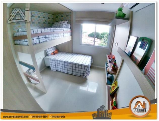 Apartamento com 2 Quartos mais Suite Master à venda no Bairro Benfica - AQUARELA CONDOMÍNI - Foto 8
