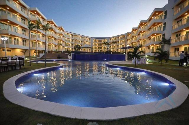 Apartamento Solarium, com 3 dormitórios à venda, 87 m² por R$ 450.000 - Porto das Dunas -  - Foto 2