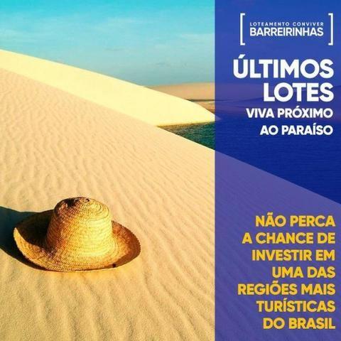 09-Oportunidade!Lotes em Barreirinhas com mensais de R$300 - Foto 5