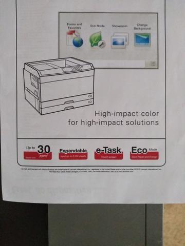 Impressora Laser A3 colorida Lexmark C925 - Foto 3