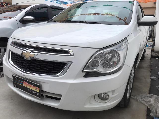 Chevrolet Cobalt ltz 1.4 completo c/ multimídia _ peq entrada + 48x 669,99 fixas - Foto 3