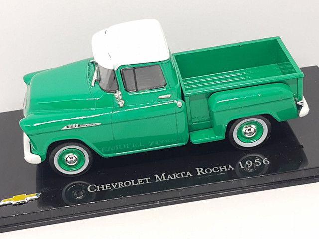 Miniatura Chevrolet Marta rocha 1956 - Foto 2