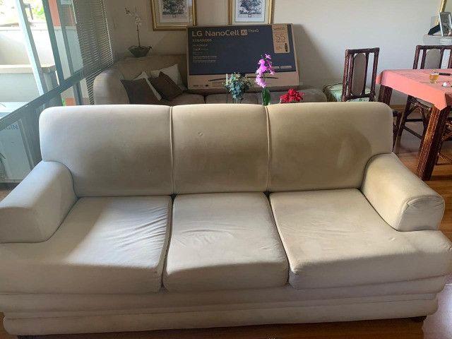 Jogo de sofá (sofá de 2 e 3 lugares)