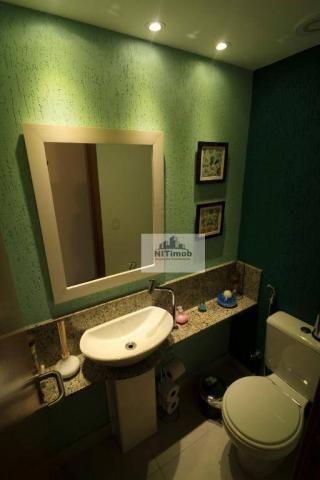 Excelente apartamento 3 quartos, frente, andar alto, parcialmente mobiliado, lazer complet - Foto 9